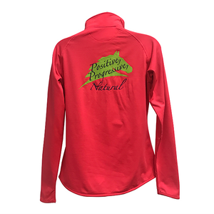 Ladies 1/2 Zip Savvy Pullover - Positive Naturally