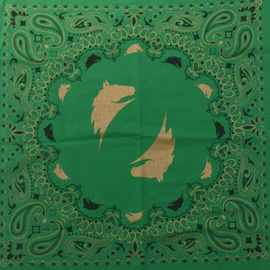 Green Parelli Bandana