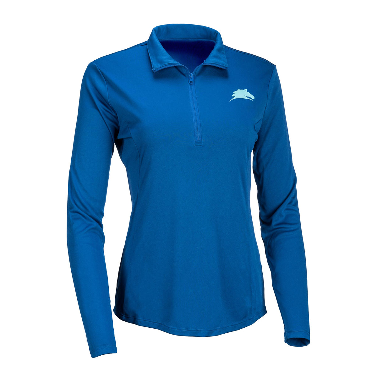 "Ladies ""Horse"" 1/4 Zip Pullover"