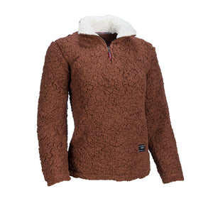 Sherpa Fleece Sweatshirt