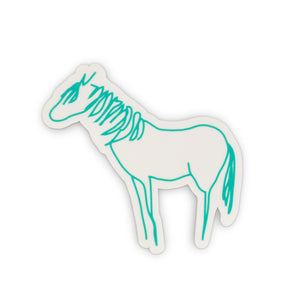 Horsenality Car Decal