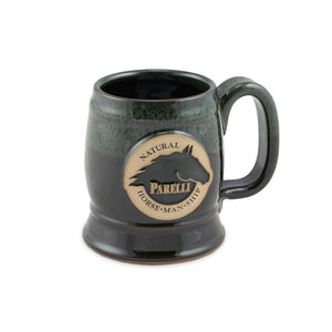Parelli Stoneware Mug Royal Green