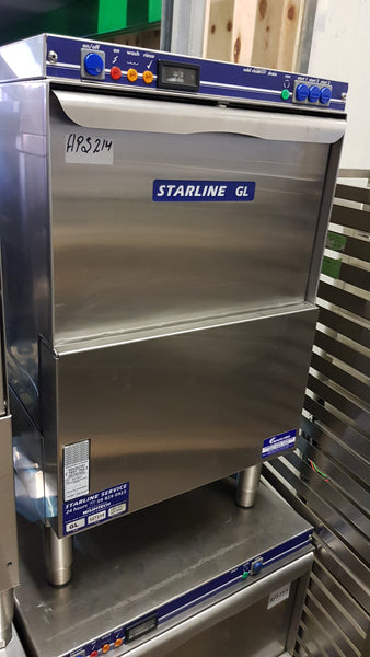 APS214 Starline GL Undercounter Commercial Dish/Glasswasher with warranty  Sold - Washpro