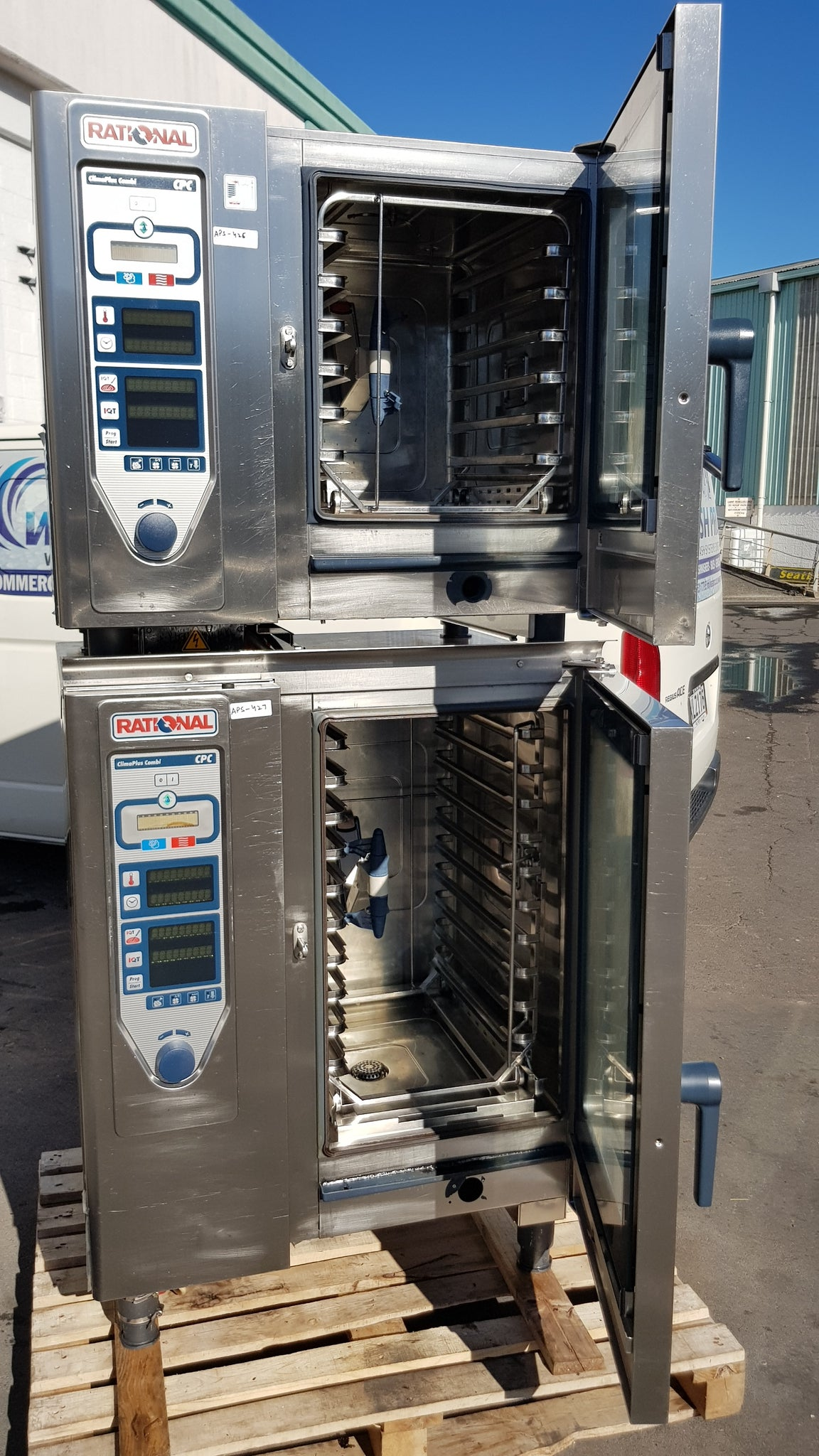 APS426, APS427 Rational CPC 61 Electric Combi oven 6 tray and CPC 101 Electric Combi oven 10 tray - Washpro