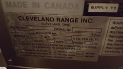 APS418 Cleveland Steam Jacket - Natural Gas - Washpro