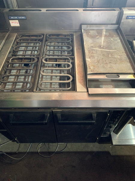APS570 BLUESEAL TURBOFAN ELECTRIC STOVE WITH ONE HOT PLATE AND CONVECTION OVEN WITH WARRANTY - Washpro