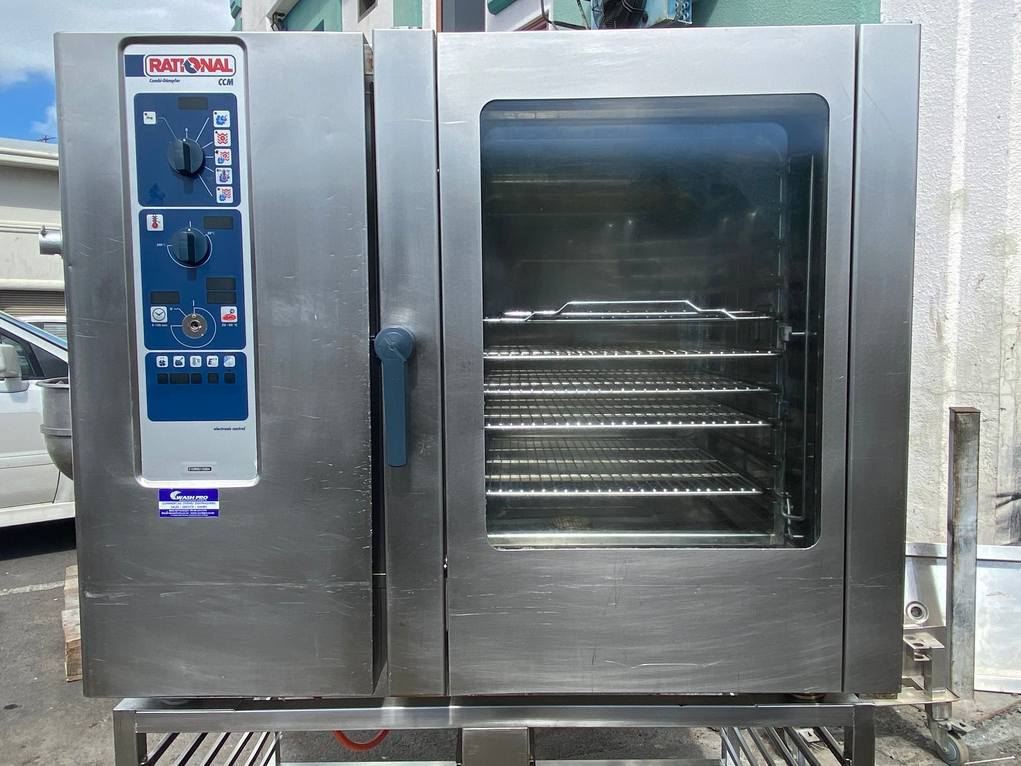 APS462  Rational CCM 20 Tray Electric Combi Oven with warranty
