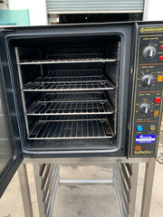 APS319 BAKBAR E32 TURBOFAN 4 TRAYS COMMERCIAL OVEN WITH STAND AND WARRANTY - Washpro