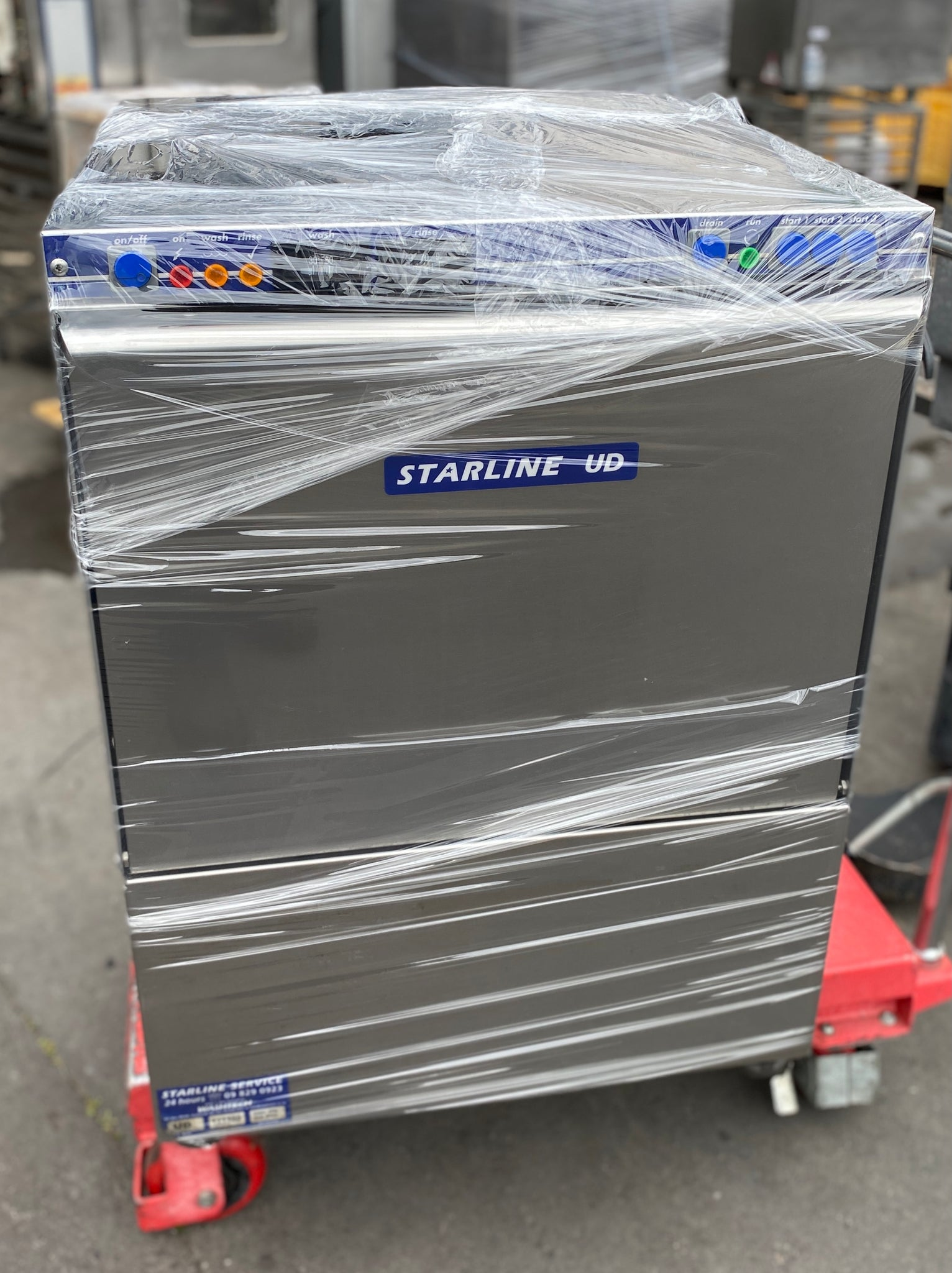 APS407 Starline UD Commercial dishwasher with Warranty