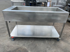 APS354 4 TRAY COMMERCIAL BAIN MARIE WITH STAND AND WARRANTY IN EXCELLENT CONDITION - Washpro
