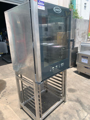APS159 Unox  XVC704 Electric Combi oven 10 tray with stand and warranty - Washpro