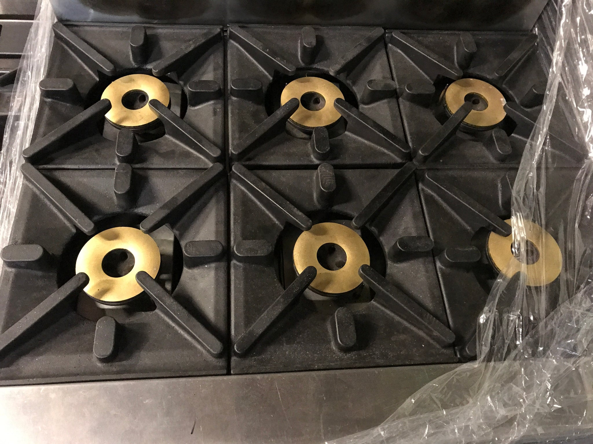 APS289 Waldorf 6 Gas Burner with Oven - Washpro