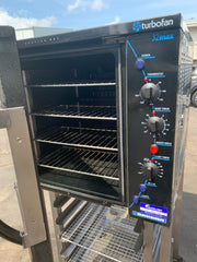 APS353  MOFFAT BAKEBAR TURBOFAN E32M 4TRAY COMMERCIAL OVEN WITH WARRANTY AND STAND - Washpro