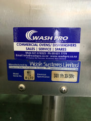 APS046 STARLINE M1 PASS-THROUGH SINGLE PHASE COMMERCIAL DISHWASHER WITH WARRANTY - Washpro