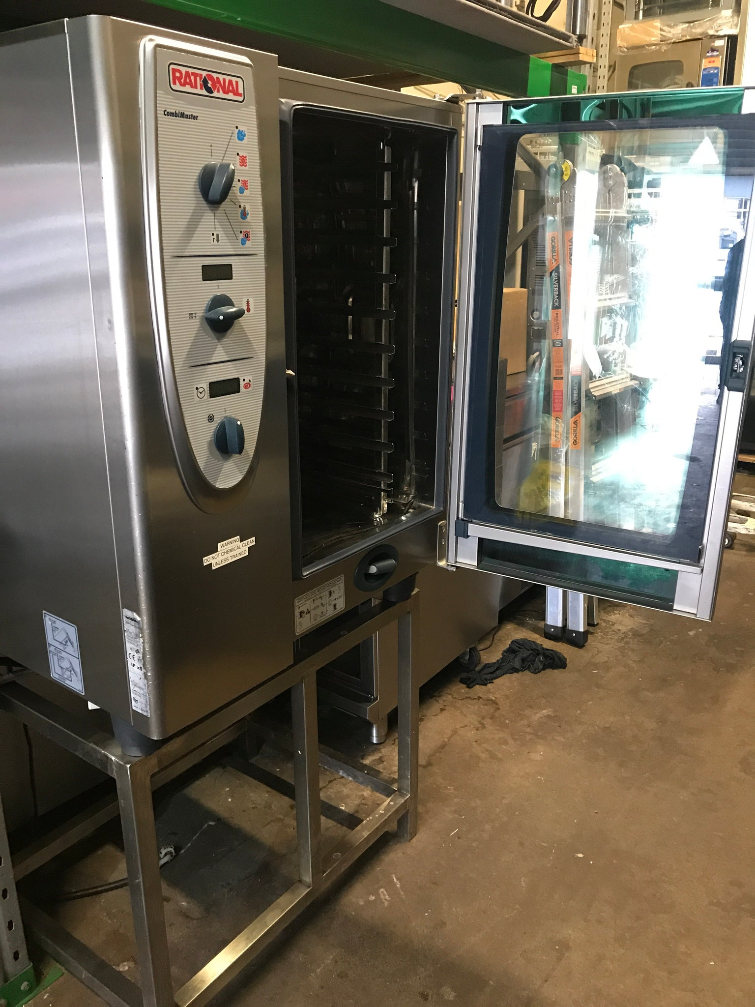 APS274 Rational CM 101 Electric 10 tray Combi  Oven with stand and warranty - Washpro