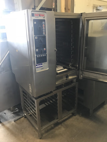 APS108 Rational CCM 10 Tray Combi Oven