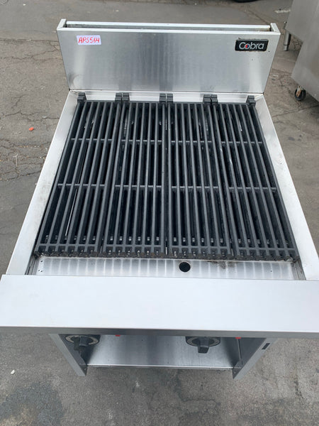 APS564 COBRA COMMERCIAL GAS GRILLS WITH WARRANTY IN EXCELLENT CONDITION - Washpro