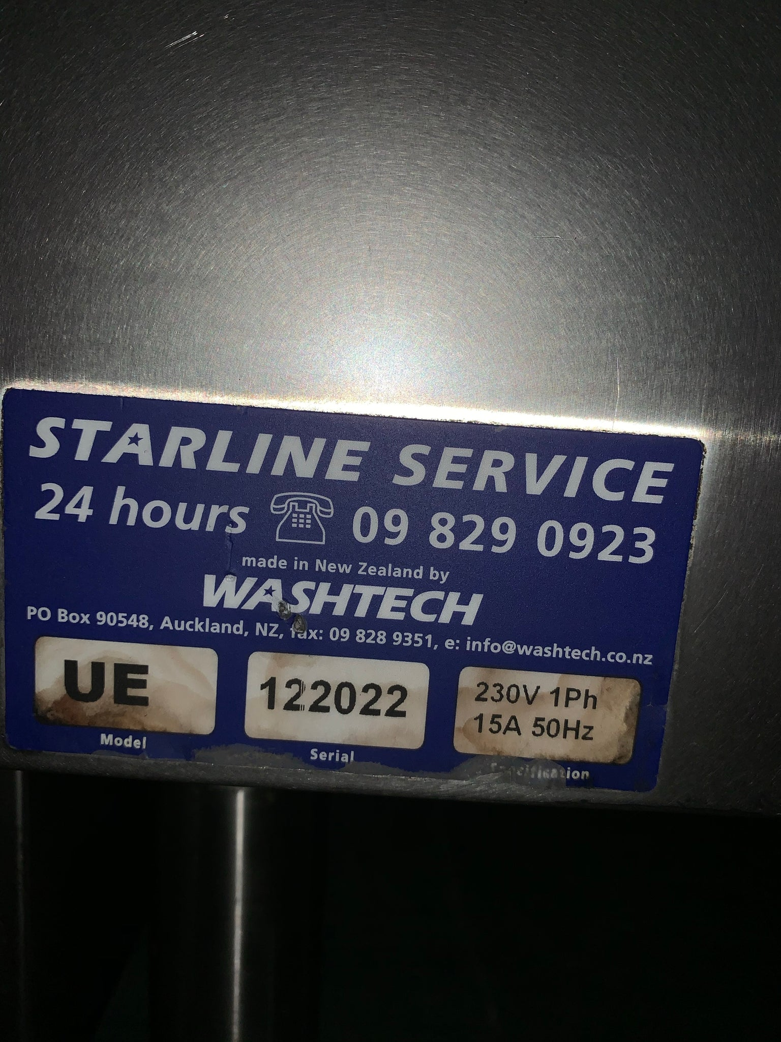APS171 Starline UE Undercounter Commercial Glasswasher - Washpro