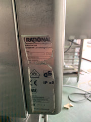 APS059 RATIONAL CPC 101 SELF CLEAING 10 TRAYn COMMERCIAL COMBI OVEN WITH STAND AND WARRANTY - Washpro