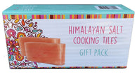 Himalayan Salt Cooking 2 x Tile Gift Pack (20x10x2.5cm)
