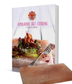Cookbook & Himalayan Salt Tile Special