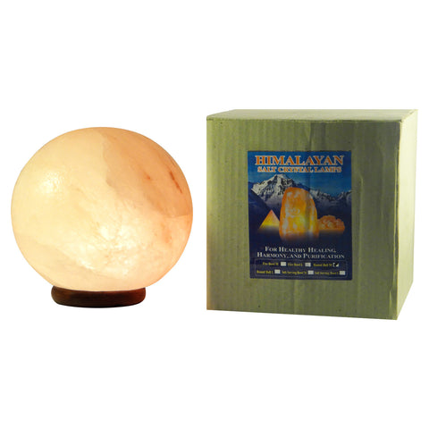 Round Ball Himalayan Salt Lamp Large