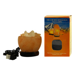 Fire Bowl USB Salt Lamp XSmall