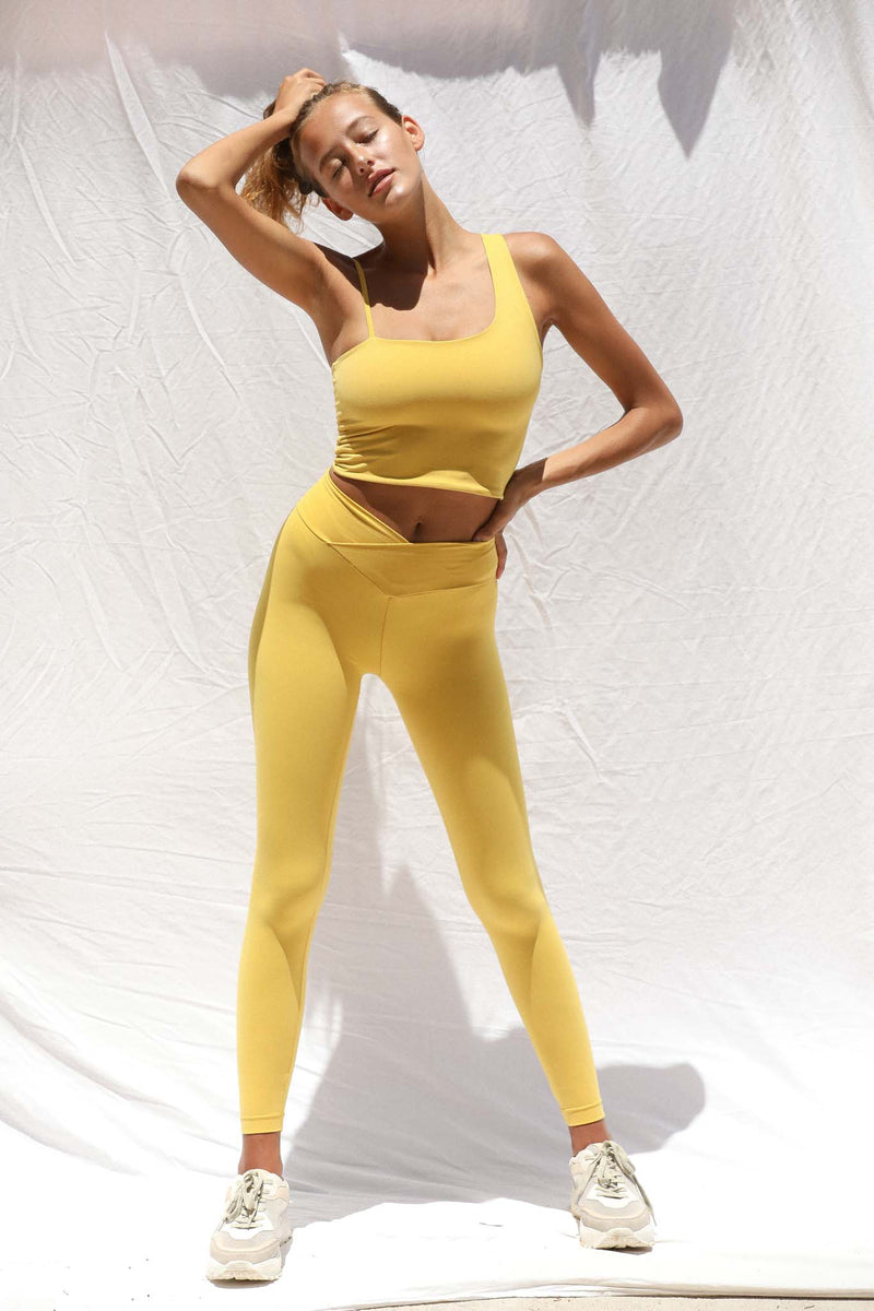 Vinyasa Legging (Super Lemon) *FINAL SALE*