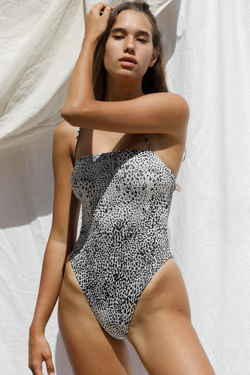 Shanti One Piece (Snow Leopard) *FINAL SALE*
