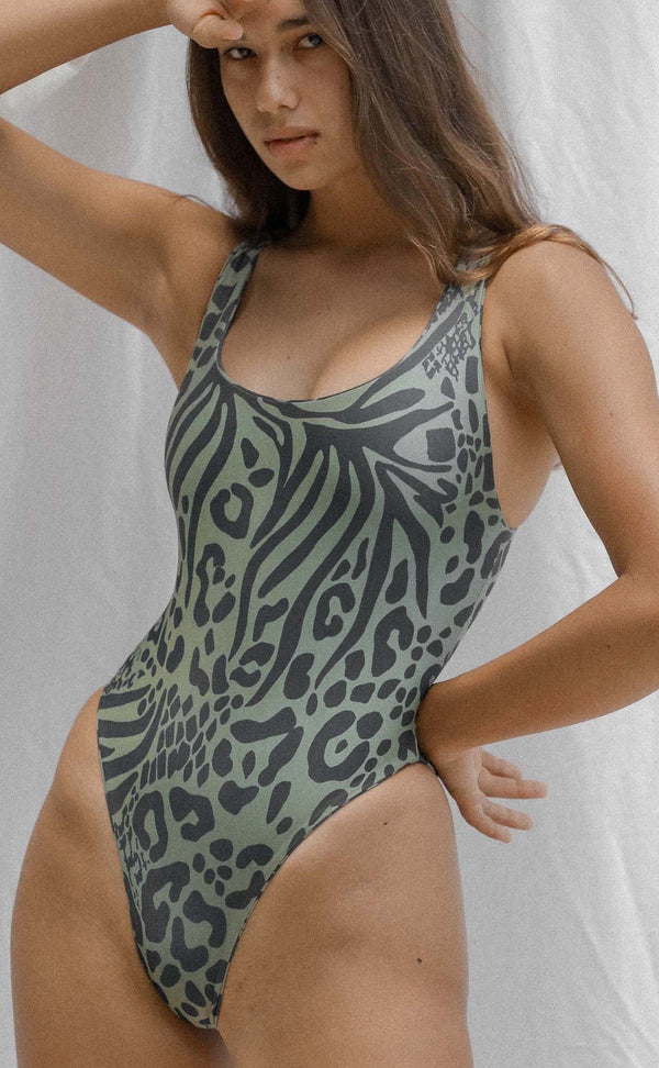 Celia One Piece (Jungle) *FINAL SALE*