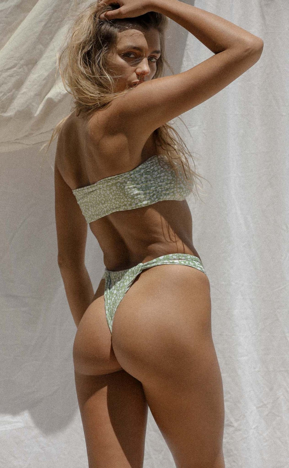 Bijou Bottom (Sage Daisy) *FINAL SALE*