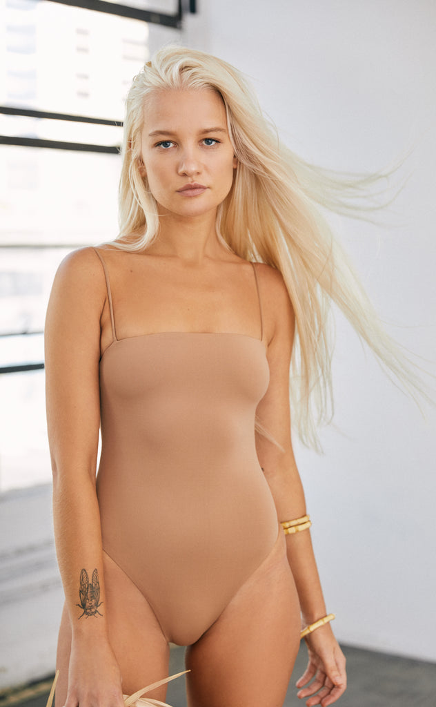 Shanti One Piece (Hazelnut) *FINAL SALE*