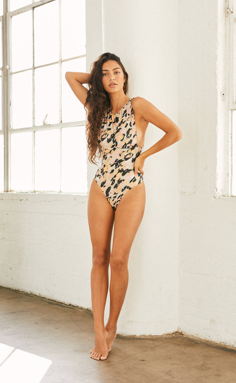 Nayda One Piece (Sherbert Spot) *FINAL SALE*