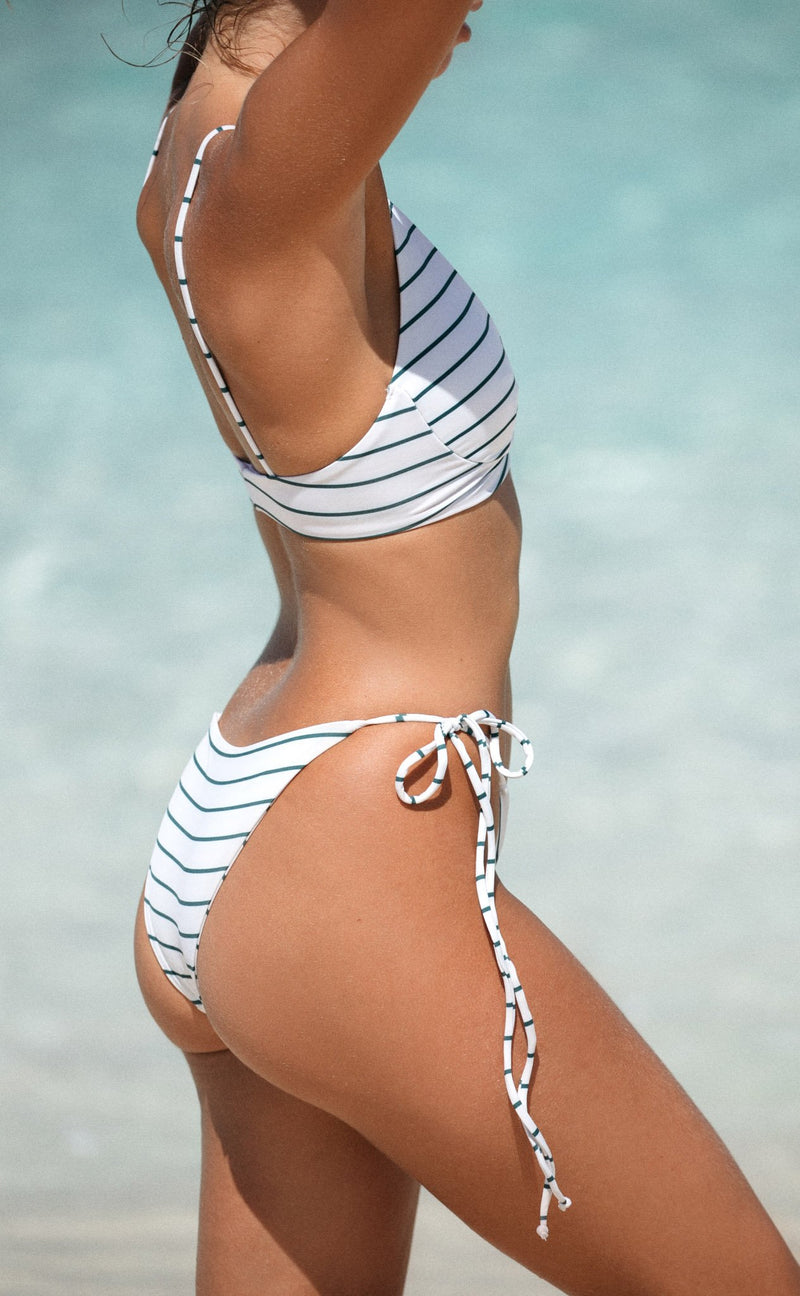 MAKUA BOTTOM (COCONUT STRIPE)