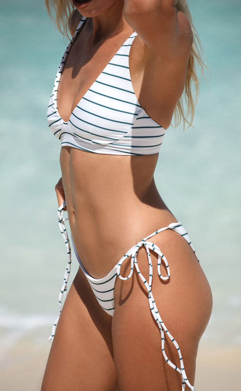 Makua Bottom (Coconut Stripe) *Final Sale*