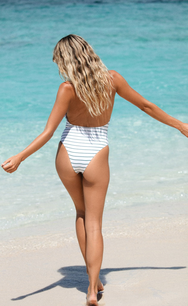 Napali One Piece (Coconut Stripe)