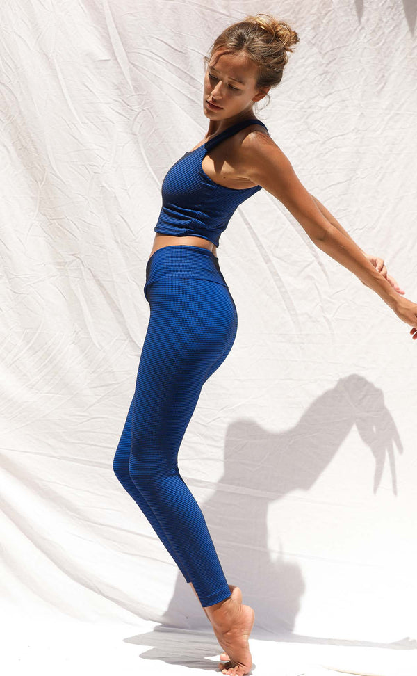 Vinyasa Legging (Electric Grid) *FINAL SALE*