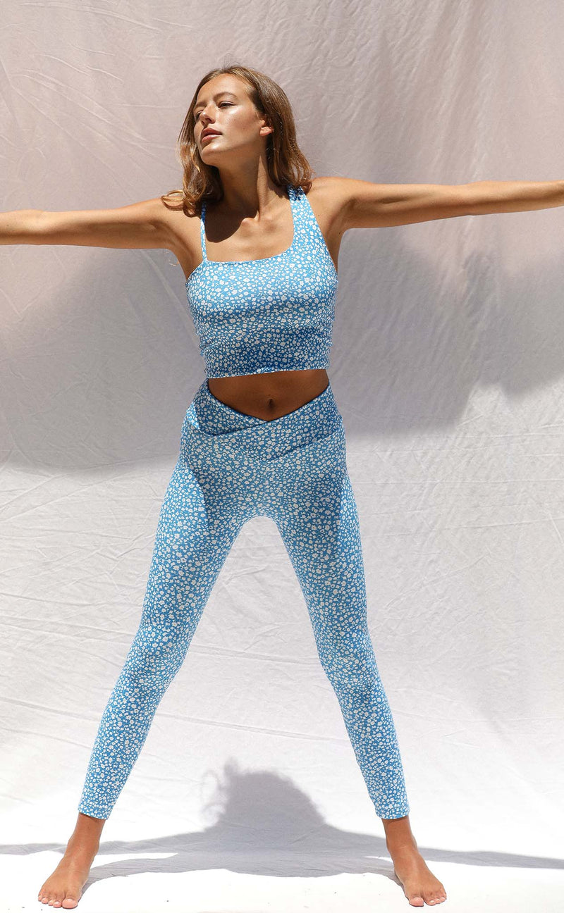 Vinyasa Legging (Electric Daisy)