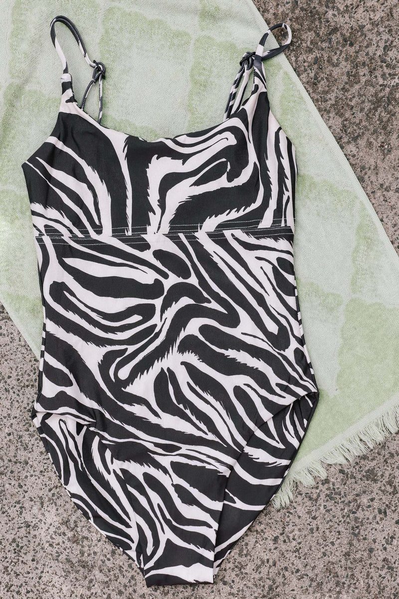 Keiko One Piece Sample (Zebra) *Final Sale*