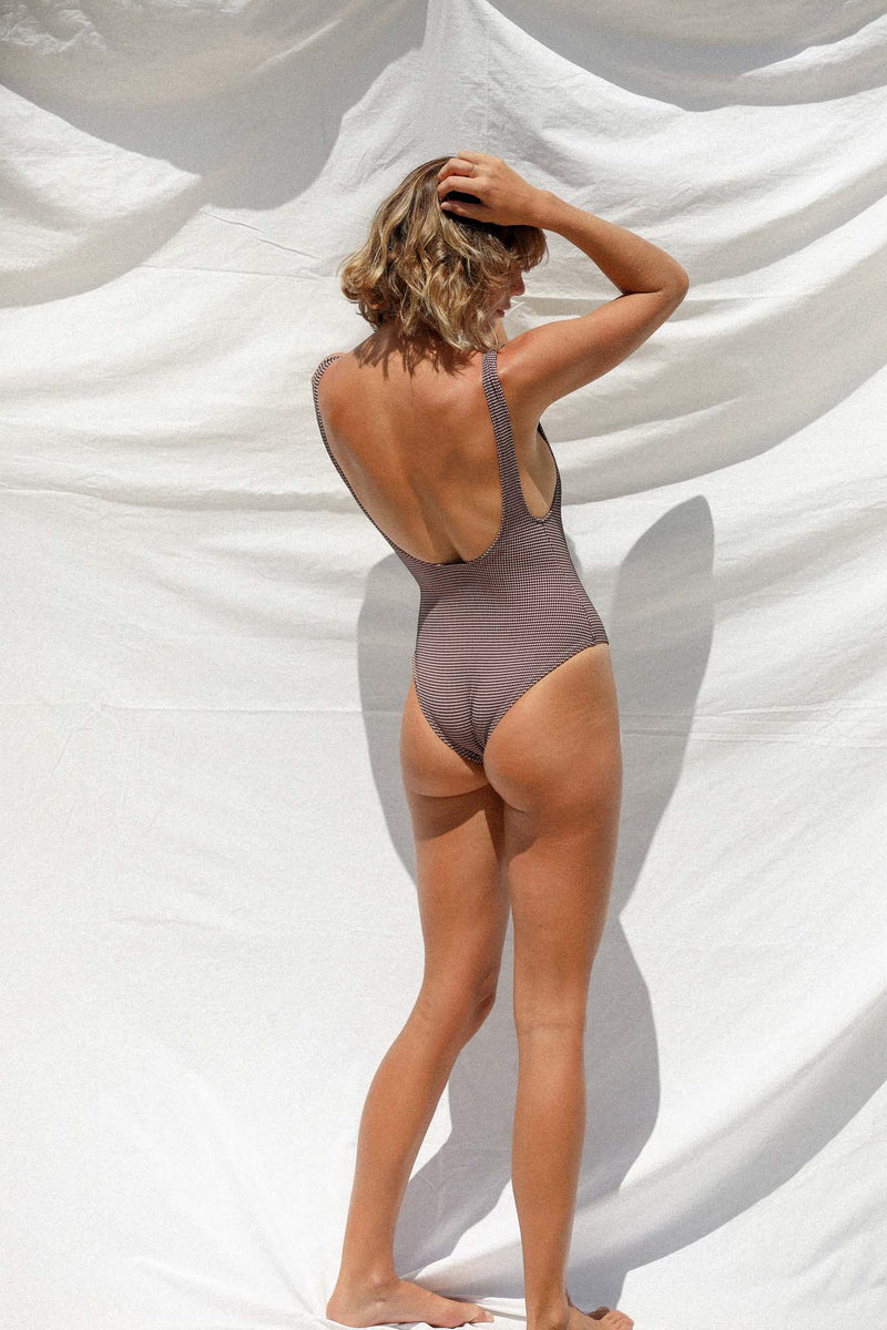 Ingrid One Piece (Zephyr Grid) *FINAL SALE*