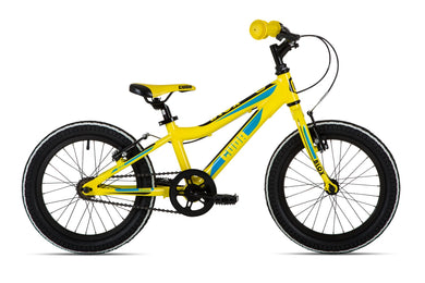 Cuda Blox Pavement Bike - Yellow - 16