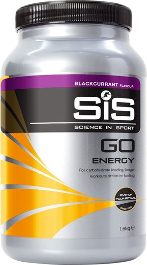 SIS Go Energy 1.6Kg Tub. Flavour: Blackcurrant