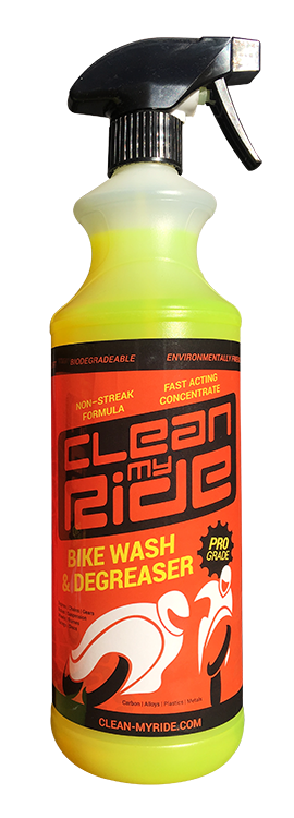 Clean My Ride Bike Wash & Degreaser APPROVED USED