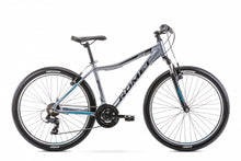 "ROMET RAMBLER R6.0 15"" Small Frame graphite-turquoise IN STOCK"