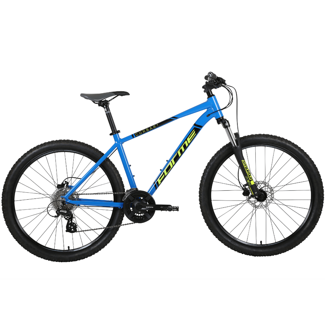 Forme Curbar 3 Mountain Bike Blue/Yellow 19