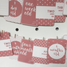 Baby Girl | Milestone Cards