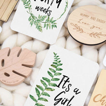 Fern Pregnancy | Milestone and Moments Cards