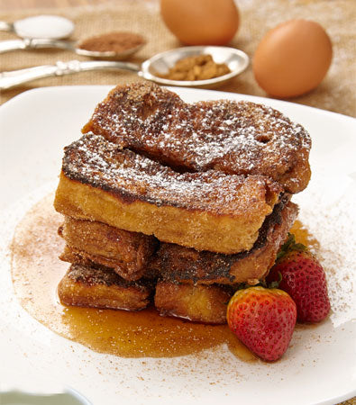 Cinnamon & Chocolate french toast