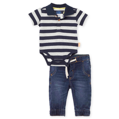 Jeans and Polo Bodysuit Pant Outfits