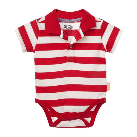 Short Sleeve Baby Boy Polo Onesies